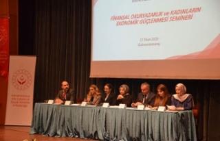 Kadınların güçlenmesine yönelik seminer düzenlendi