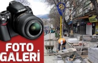 Trabzon Caddesi'nde düzenleme devam ediyor