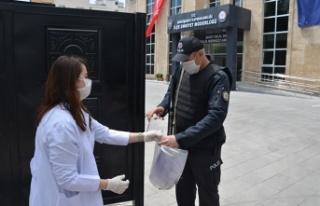 Teknokent Koleji'nden Kahramanmaraş polisine 155...