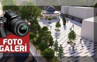 """Büyükşehir, Ekinözü'ne """"Millet Meydanı""""..."""