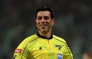 Fenerbahçe-Sivasspor maçının hakemi Ali Palabıyık...