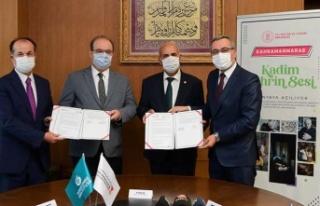 KMBB i ile Yunus Emre Enstitüsü işbirliği protokolü...