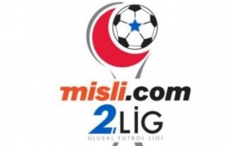 Misli.com 2. Lig'de toplu sonuçlar