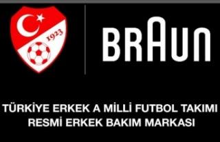 Braun, A Millî Takım'a sponsor oldu