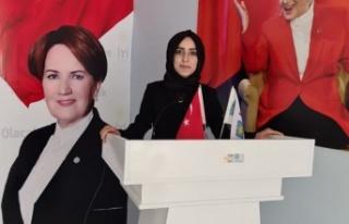 Türk kadını, omuzlar üzerinde göklere yükselmeye...