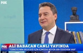 Ali Babacan:'Gereken 200 milyon doz aşının 3...