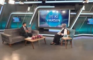 """TÜMKİAD İl Başkanı Eliaçık, Beyaz TV'de """"İyi..."""