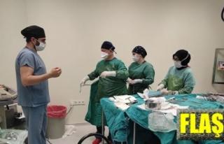 Ameliyatla karnından 9 kilo 600 gram tümör çıkarıldı