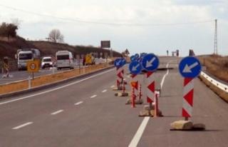 Arsan Köprülü Kavşağı'nda ulaşım kontrollü...