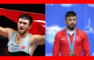Avrupa Güreş Şampiyonası'nda Türk damgası