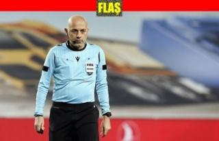 Cüneyt Çakır EURO 2020'de düdük çalacak