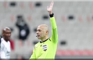Cüneyt Çakır, Slavia Prag-Arsenal maçını yönetecek