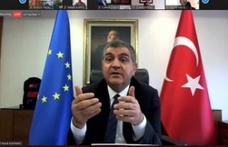 Kaymakcı, KSÜ'de 'Türkiye-AB İlişkileri'...