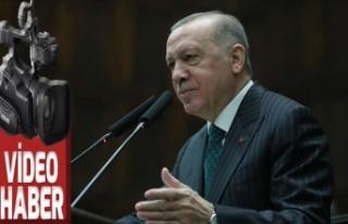 Erdoğan, TBMM grubunda konuşuyor
