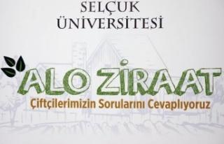 "Konya Selçuk Üniversitesi'nden ""Alo Ziraat..."