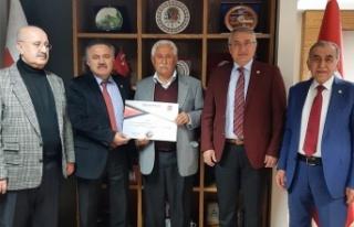 Kürtül eski Belediye Başkanı Uzun'a yeni görev