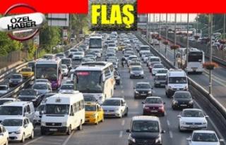 Mart ayında 130 bin 420 adet taşıtın trafiğe...