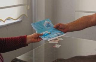 Örnek projede kart dağıtımı sürüyor