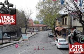Sarayaltı Yolu'nda yıkımlar başladı