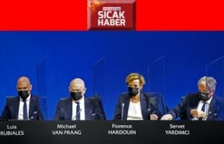 Servet Yardımcı, UEFA Yönetim Kurulu üyeliğine...