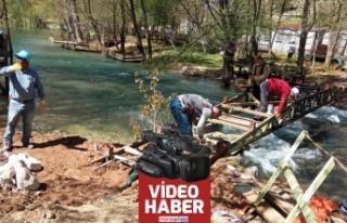Yeşilgöz'de çalışmalar devam ediyor