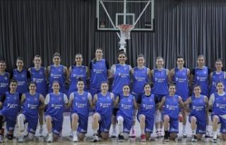 A Milli Kadın Basketbol Takımı'nda hazırlıklar...