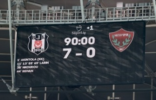 Beşiktaş 'şampiyon' gibi..