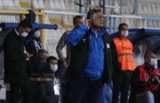 BŞB Erzurumspor'da teknik direktör Vural ile...