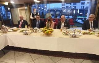 Büyükelçiler, MADO'nun lezzetleri ile iftar...