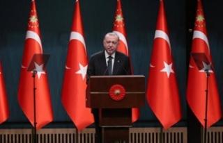 Erdoğan, Haziran ayına ilişkin kademeli normalleşme...