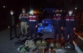 Kaçak keklik avlayanlara 20 bin lira ceza