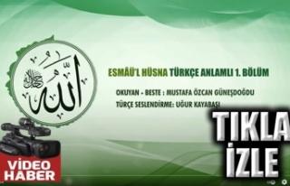 Mustafa Özcan Güneşdoğdu: Esma'ül Hüsna...