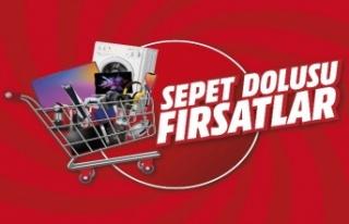 """""""Sepet Dolusu"""" fırsatlar MediaMarkt'ta"""