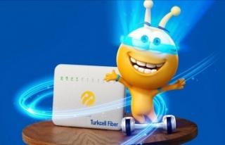 Turkcell'in fiber internetiyle tanışan yeni il...