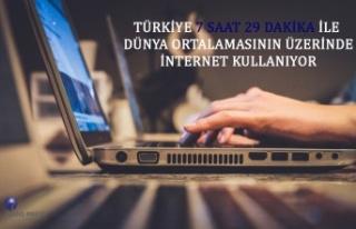Türkiye, 7 saat 29 dakika ile dünya ortalamasının...