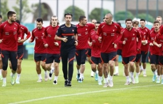 A Milli Futbol Takımı, Almanya'daki hazırlıklarını...