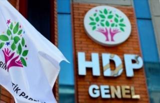 HDP'nin kapatılması istemiyle açılan davada...