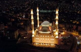 Kahramanmaraş'ta bin 351 cami var!