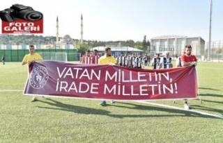 Ampute Futbol Karşılaşması Türkoğlu'nda