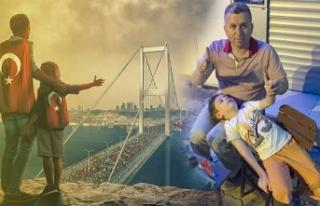 Darbe girişimi Türk milletinin cesareti ve ferasetine...
