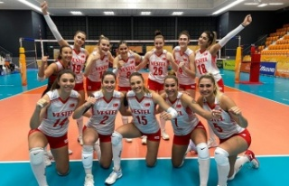 Filede U20 Kız Milli Takımı, Dünya Şampiyonası'na...