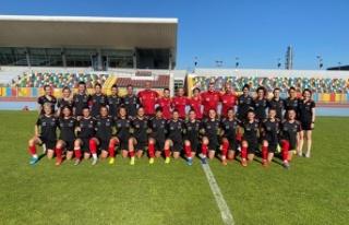 Kadınlar, Arnavutluk ile iki hazırlık maçı yapacak