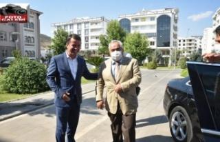 KİÜ Rektörü Özgül, Türkoğlu yerleşkesini...