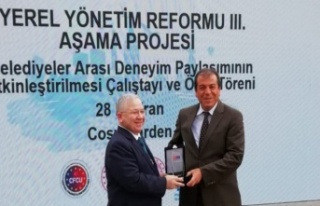 """KMBŞB - İK """"yönetim bilgi sistemi"""" ödül..."""