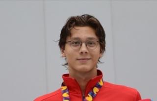 Milli yüzücü Berke Saka, Avrupa'da altın kazandı