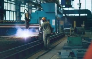 Sanayi üretimi Mayıs'ta yıllık bazda yüzde...