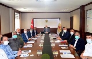 Tekstil İhtisas OSB Müteşebbis Heyeti toplandı