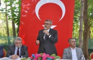 """""""Türkiye'nin özgüvenine, Türkiye'nin..."""