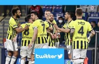Twitter'ın lideri Fenerbahçe oldu