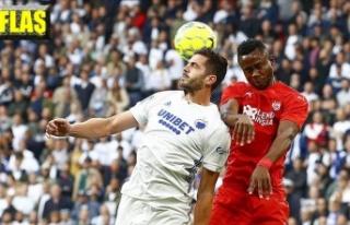 Demir Grup Sivasspor da 0-5 ile veda etti
